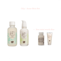 Oily Acne Whamisa Skin Set