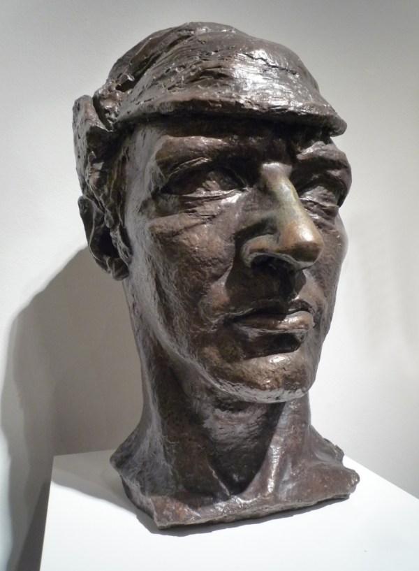 Jacob Epstein Portrait Sculpture Npg Joe
