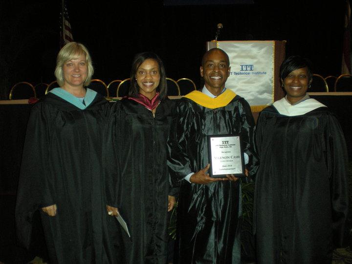 Algenon Cash Delivers Commencement Speech to ITT Technical Institute