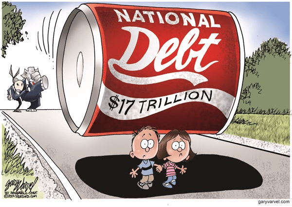 America is a Nation that Remains Deep in Debt