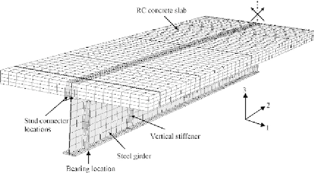 Examples of Finite Element Models of Steel-Concrete