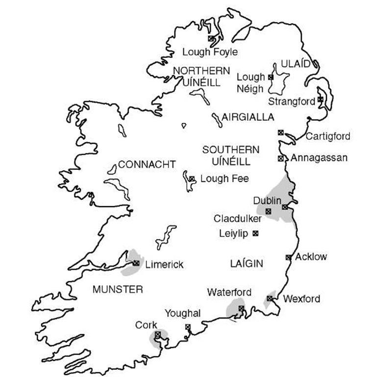 VIKING INCURSIONS (Medieval Ireland)