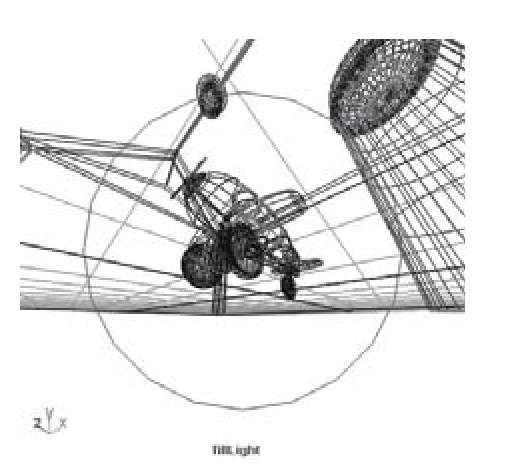 Lighting — Three-point Scheme (Wiring Things Up) (3D