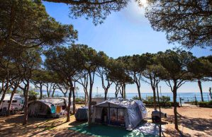 Campin in Blanes