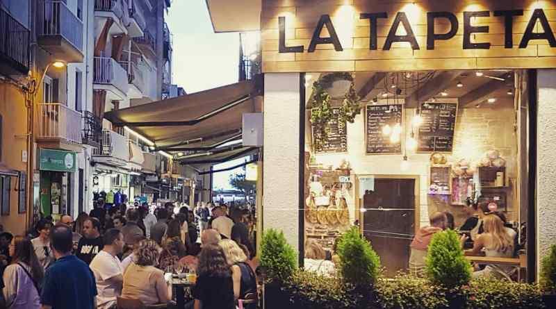 Tapasbar in Blanes La Tapeta