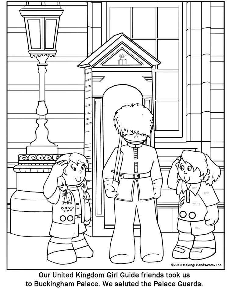 Guard Coloring Pages From The Lion Kion Sketch Coloring Page