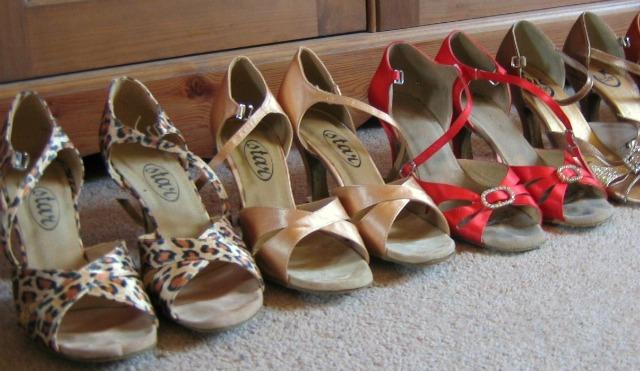 Dancing shoes - Back to modern jive