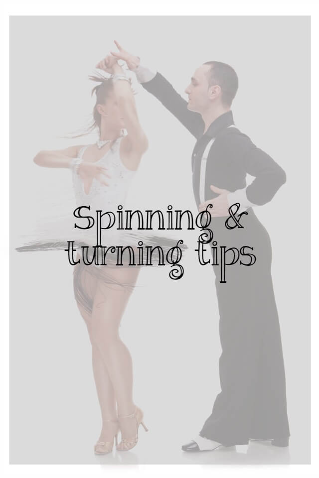 Spinning and turning tips in dance - What about dance