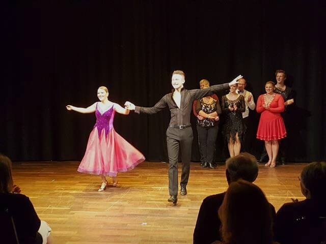 introducing the dancers in Strictly Banbury