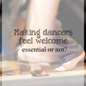 How to make dancers feel welcome - What about dance