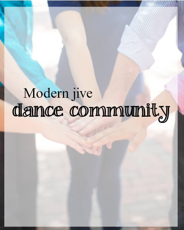 modern jive dance community - what about dance