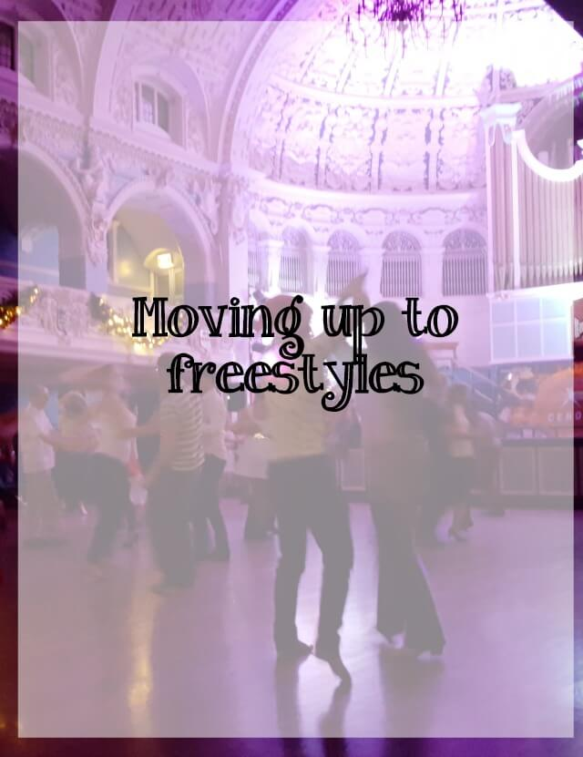 Moving up to freestyles - What about dance