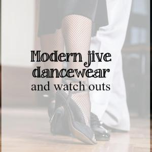 modern jive dancewear - what about dance