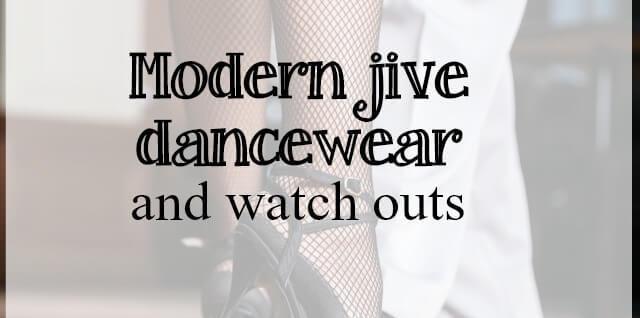 modern jive dancewear - what about dance
