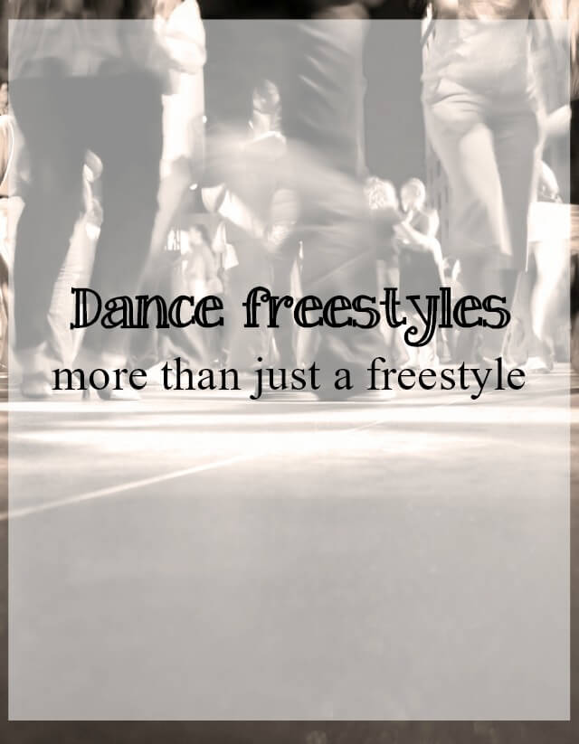 dance freestyles - what about dance