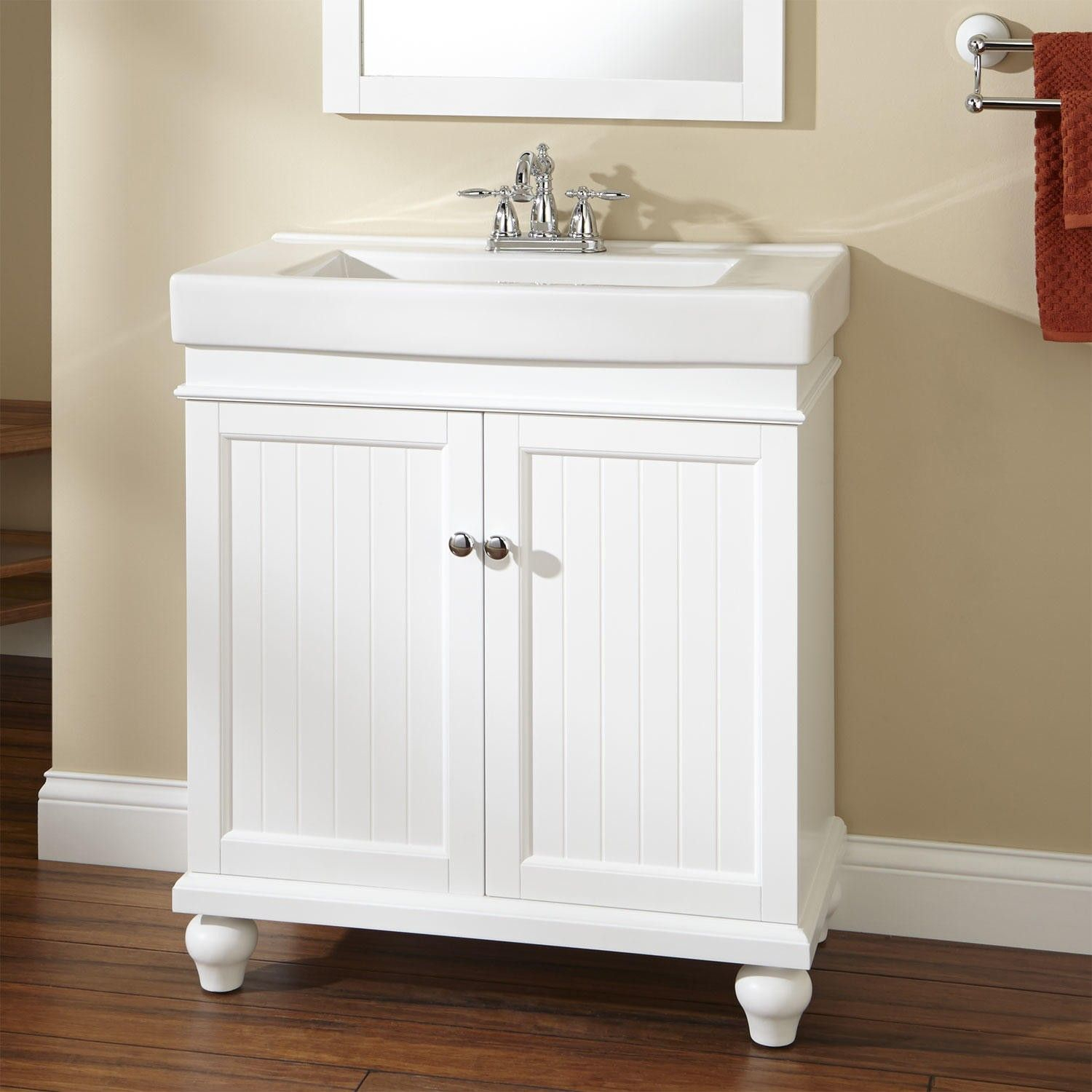 Cool 30 Lander Vanity White Pinterest Vanities Bath And Bathroom Within 30 Bathroom Vanity With Drawers Ideas House Generation