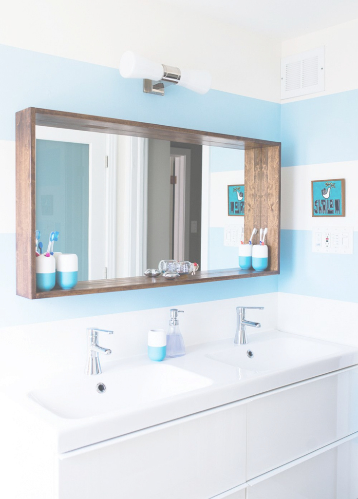 Glamorous 17 Bathroom Mirrors Ideas Decor Design Inspirations For Intended For New Mirror Frames For Bathroom Ideas House Generation