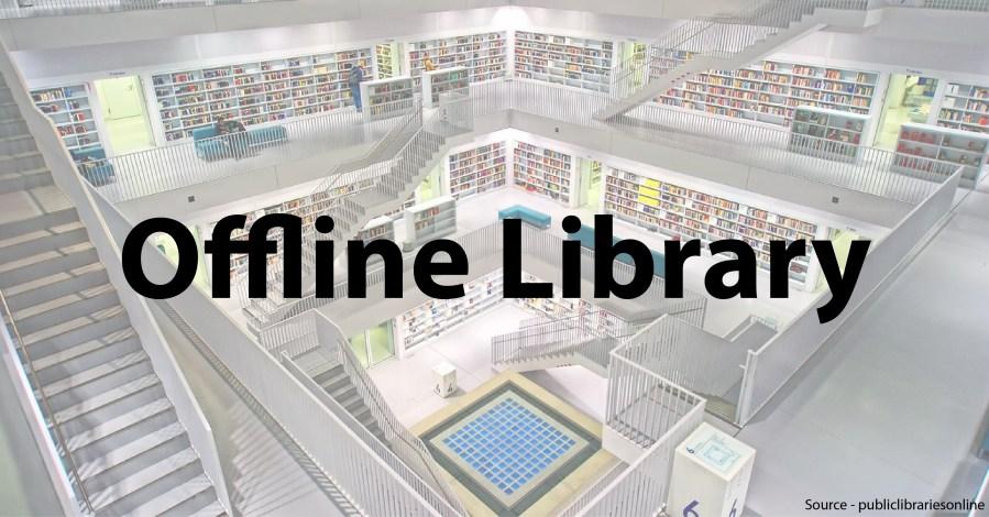 Offline Library