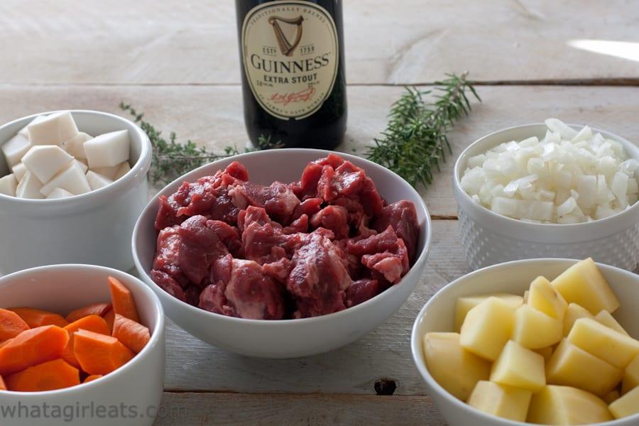 Guinness beef stew ingredients