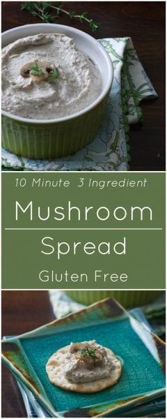 Gluten free Mushroom Spread