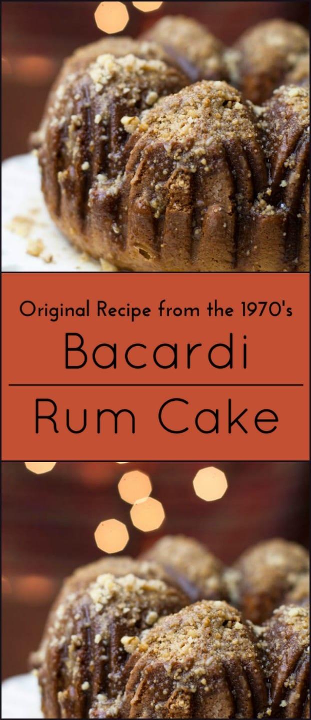 Bacardi Chocolate Rum Bundt Cake