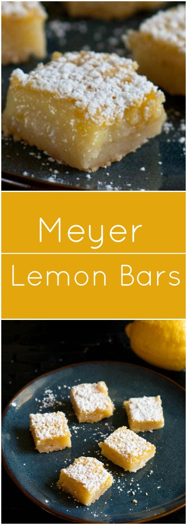 Meyer Lemon Bars - What A Girl Eats