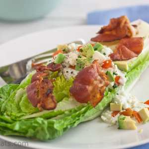Homemade Blue Cheese Dressing {The BLT Salad}
