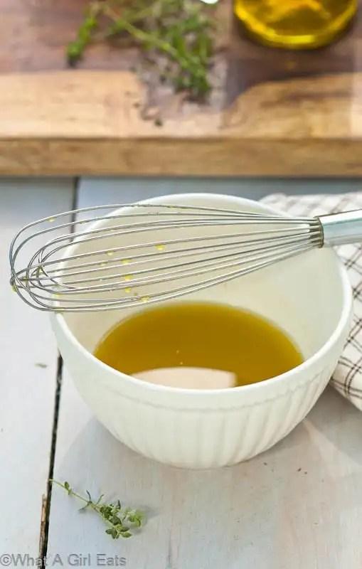 Homemade Garlic Vinaigrette