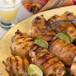Tequila Glazed Chicken Thighs