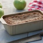 Gluten free / Grain free apple walnut bread is a moist quick bread with apples, cinnamon, walnuts and lots of flavor! It's hard to believe that this delicious treat is wheat free!