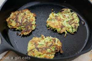 Herbed Vegetable Potato Pancakes