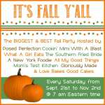 It's Fall Y'All –  October 26th, Link Party!