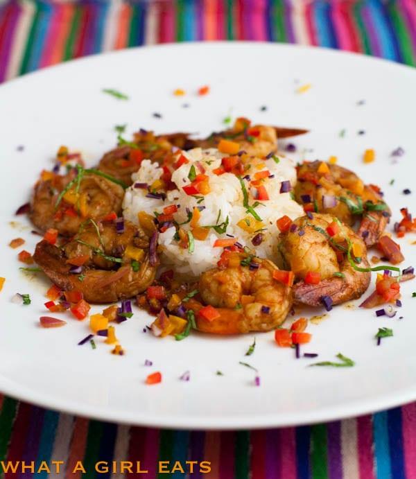 Spicy Confetti Shrimp