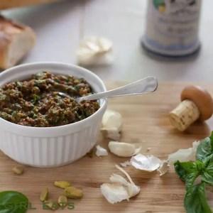 Sun-Dried Tomato and Pistachio Pesto