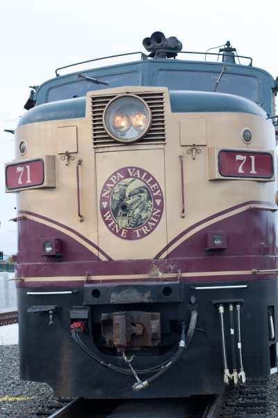 The Napa Valley Wine Train is a gourmet lunch excursion, taken through the heart of Napa Valley, California.