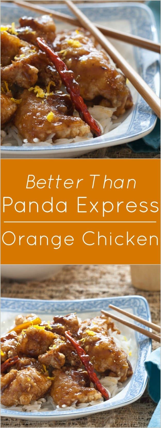 Better than Panda Express Orange Flavored Chicken.