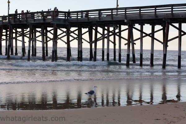 Newport Beach pier.