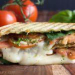 Grilled Caprese Panini Sandwich