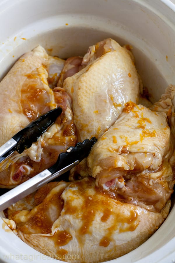 chicken thighs in slow cooker