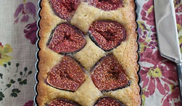 Grain Free Fig And Walnut Tart