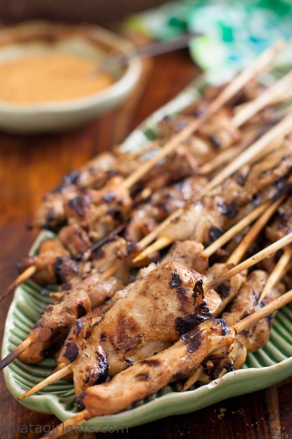 Paleo Chicken Satay Cashew Sauce