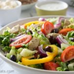 Greek Gyros salad keto whole30