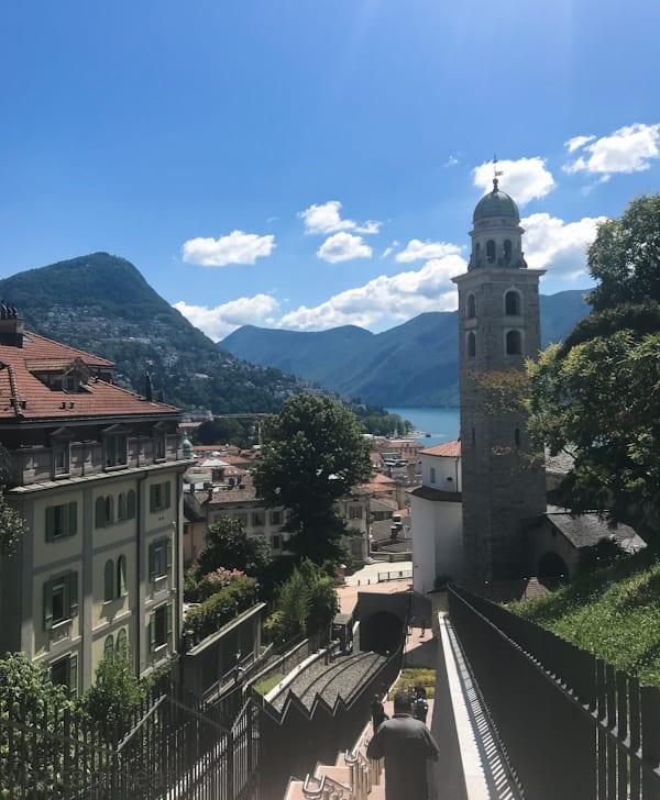 Lugano funicular Cruise and Cook Lugano