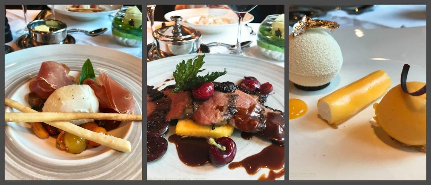 Meal at the Alex Grill in Zermatt