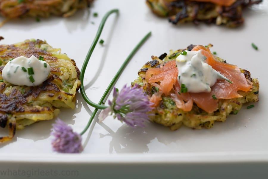 zucchini vegetable pancakes
