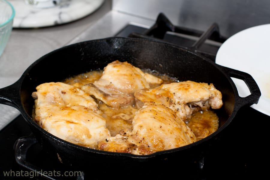 Chicken in glaze