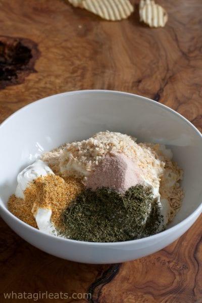 dip mix in sour cream
