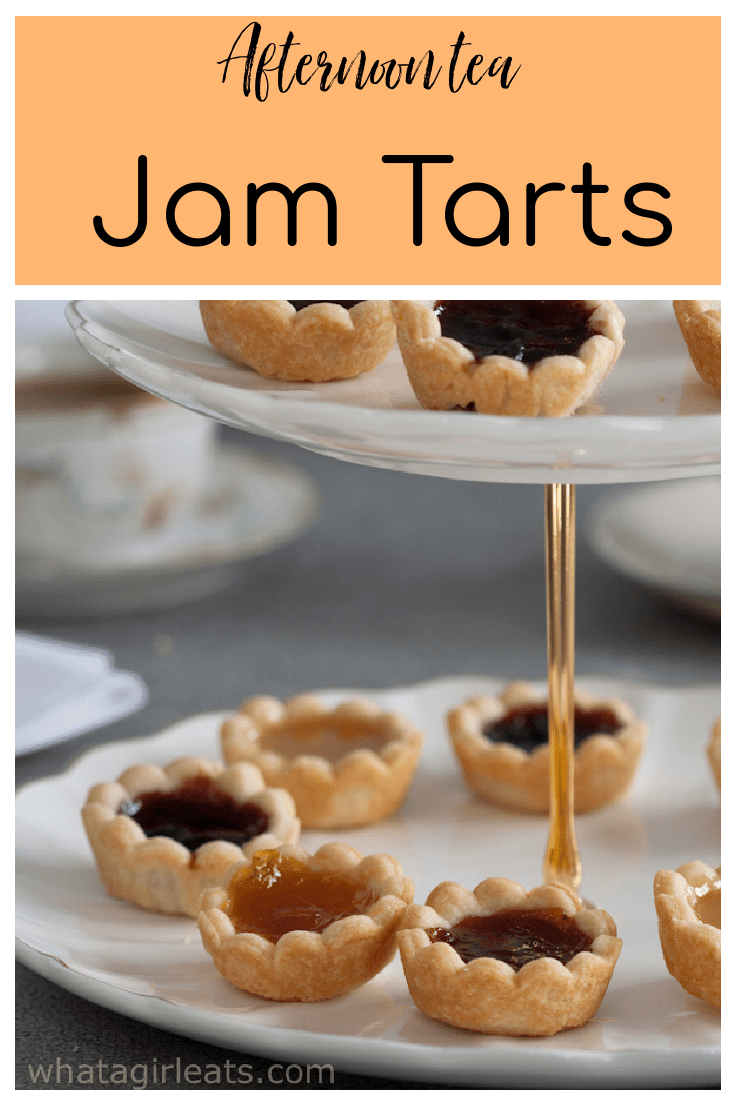 These miniature fruit tarts are filled with various flavors of fruit jams and curds. Perfect for an afternoon tea.
