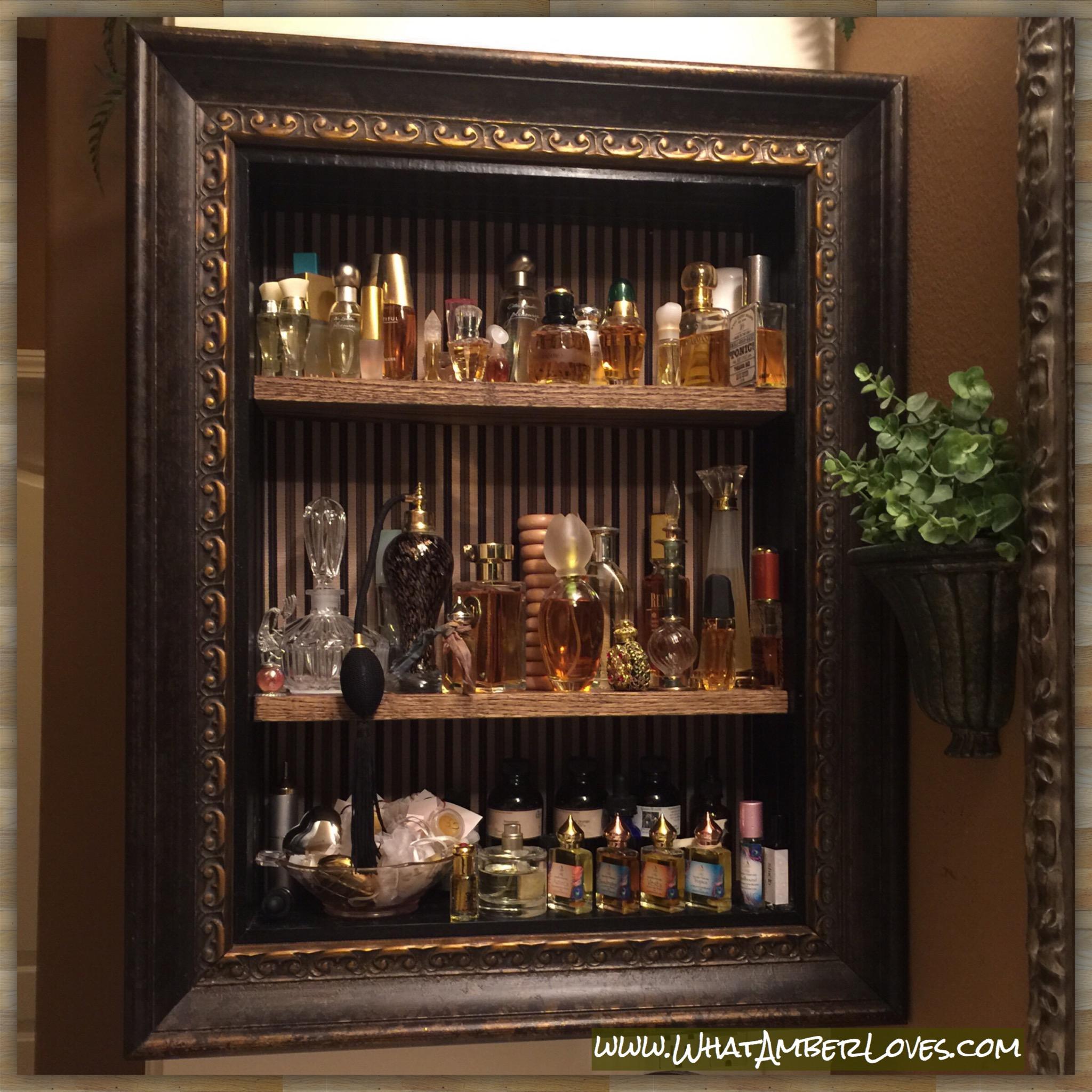DIY Perfume Storage Display Options  what AMBER loves