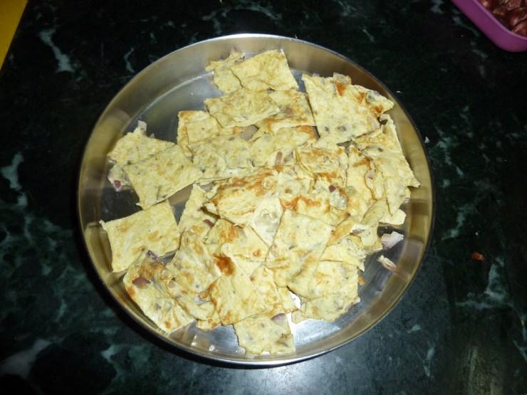 Omlette Curry Recipe